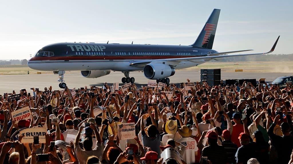 Avión de Donald Trump