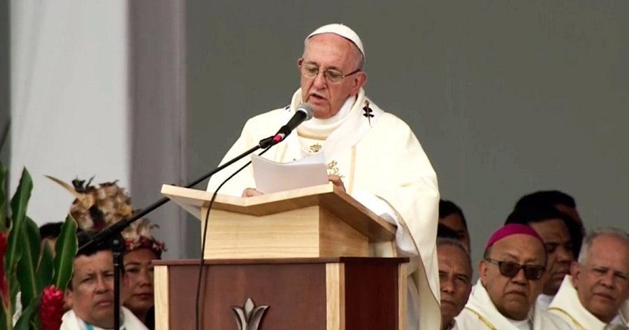 Papa Francisco en Villavicencio