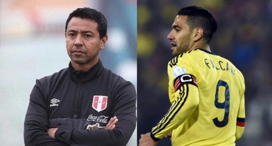 Nolberto Solano y Falcao García