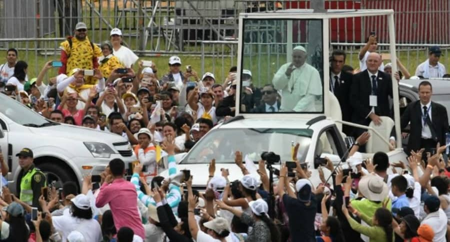 Papa Francisco en Villavicencio.