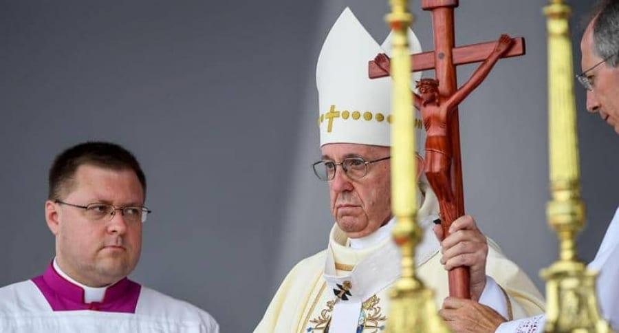 Papa Francisco en misa en Villavicencio