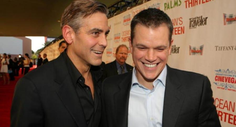 Clooney y Damon