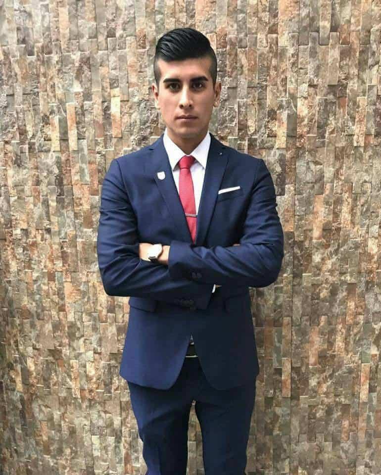 Diego Felipe Varona, acusado de la .agresión