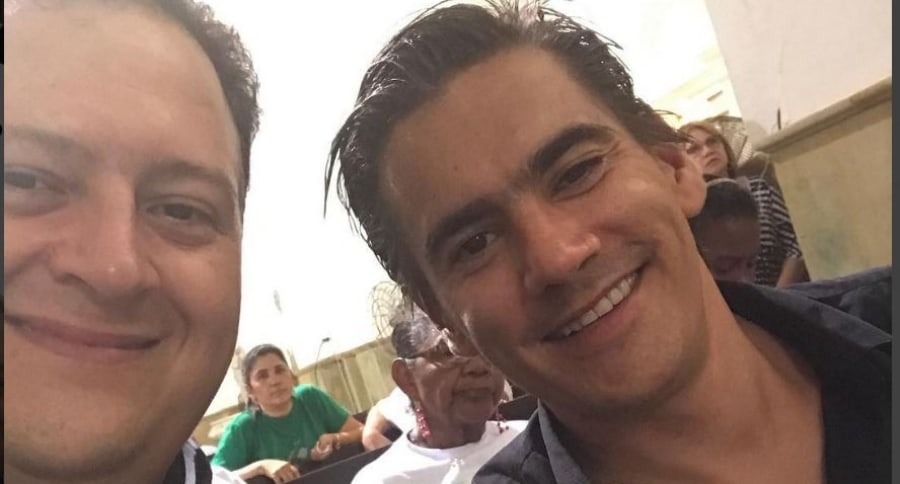 Juan Pablo Escobar y Joge Lara
