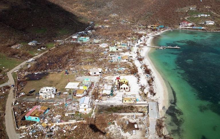 Irma en el Caribe