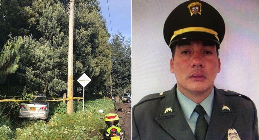Édgar Javier Pineda Pérez, intendente de la Policía suicidado