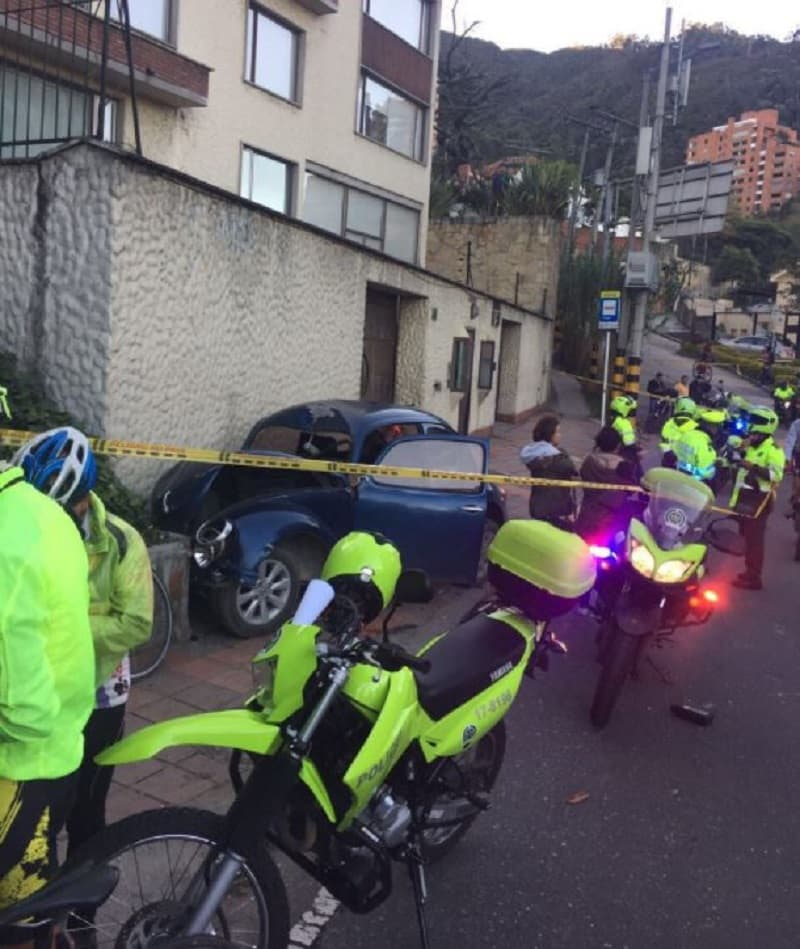 Protesta por muerte de ciclista