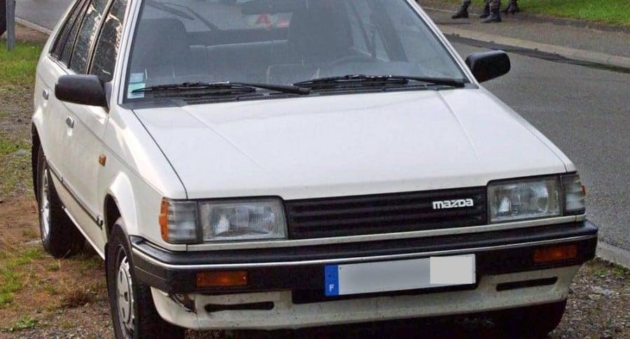 Mazda 323, el más robado