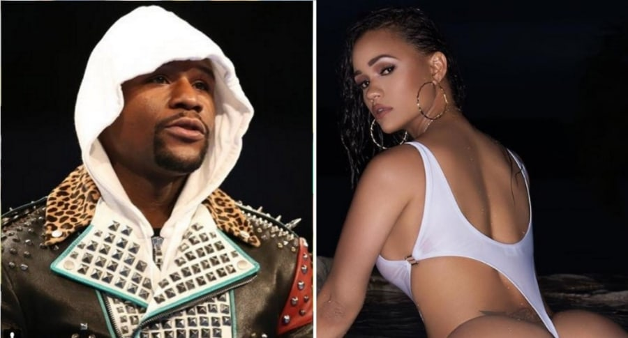 Mayweather y Red Rose