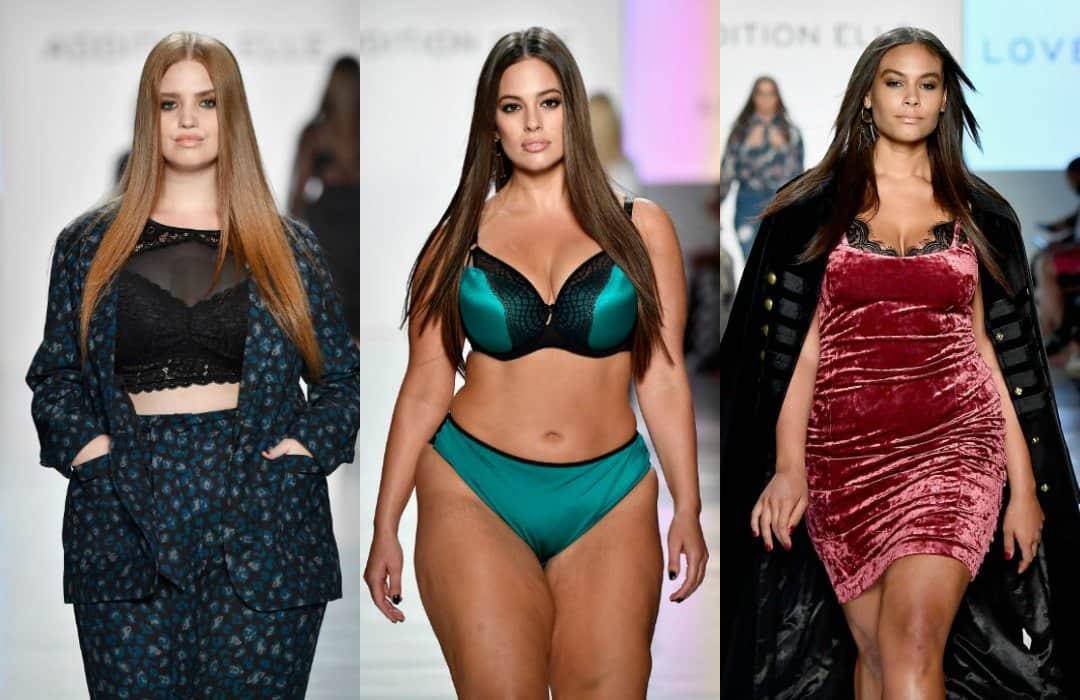 Desfile modelos de tallas grandes Semana de la Moda de Nueva York