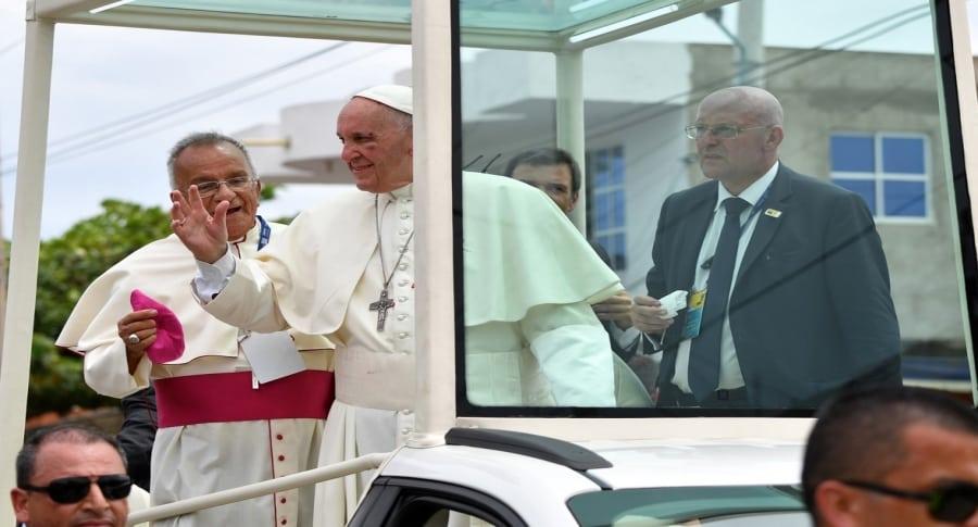 Papa en Cartagena