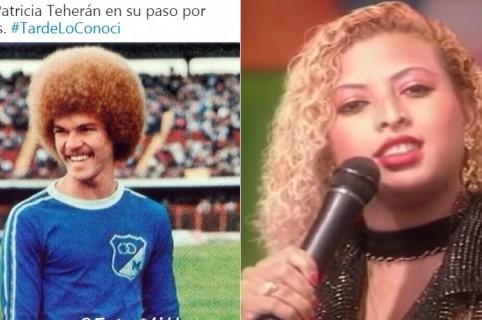 'El Pibe' Valderrama, exfutbolista, y Patricia Teherán, cantante (Q.E.P.D.)