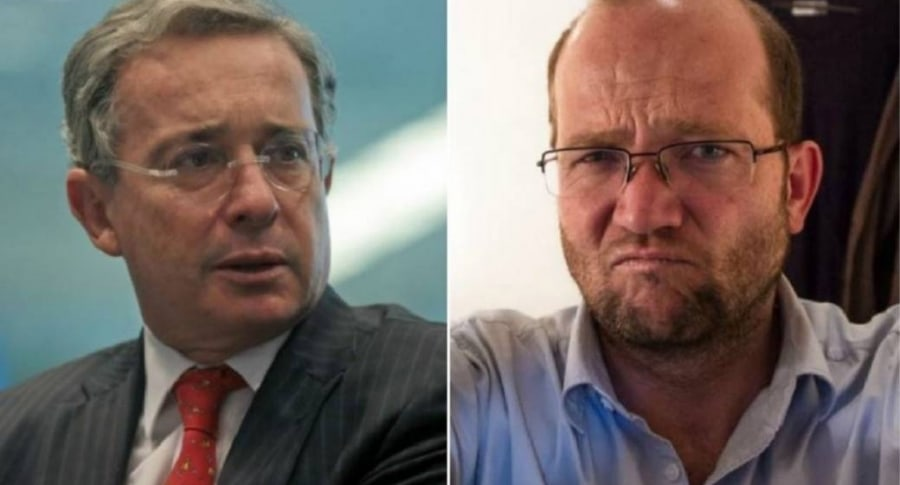 Uribe borró trinos contra Daniel Samper