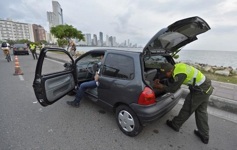 Vehículos robados (imagen de referencia)