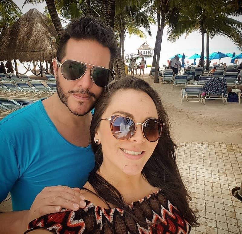 Marcelo Cezán y Michelle Gutty