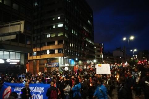 Protestas por revocatoria de Peñalosa