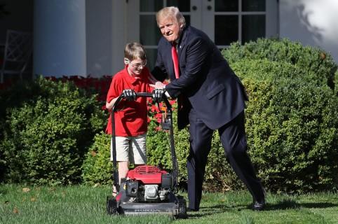 Donald Trump con Frank Giaccio