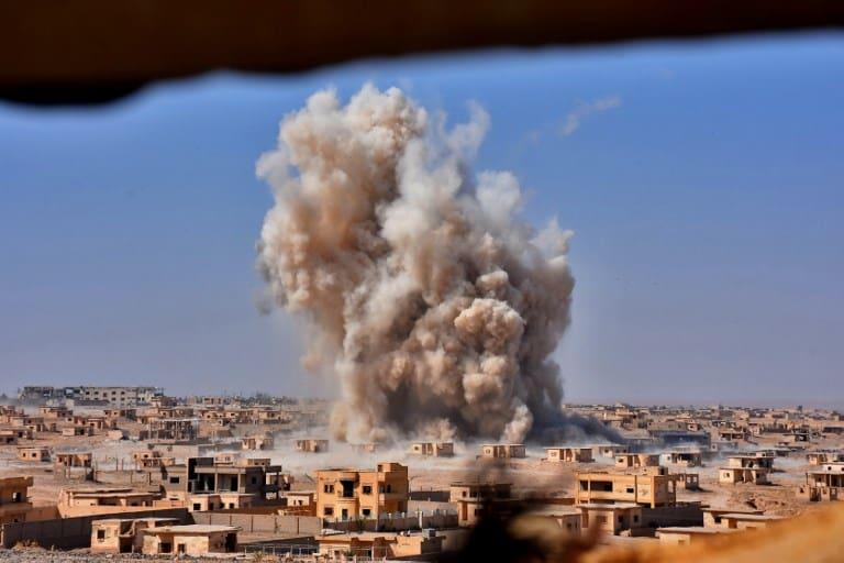 Explosión en Deir Ezzor, Siria. Pulzo.
