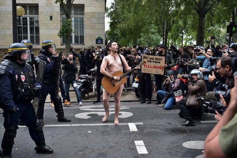Protesta contra reforma laboral en Francia. Pulzo.