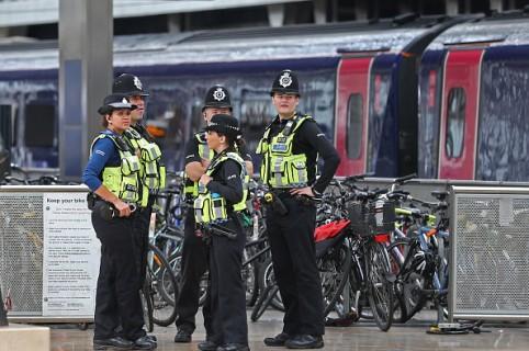 Policía en Londres