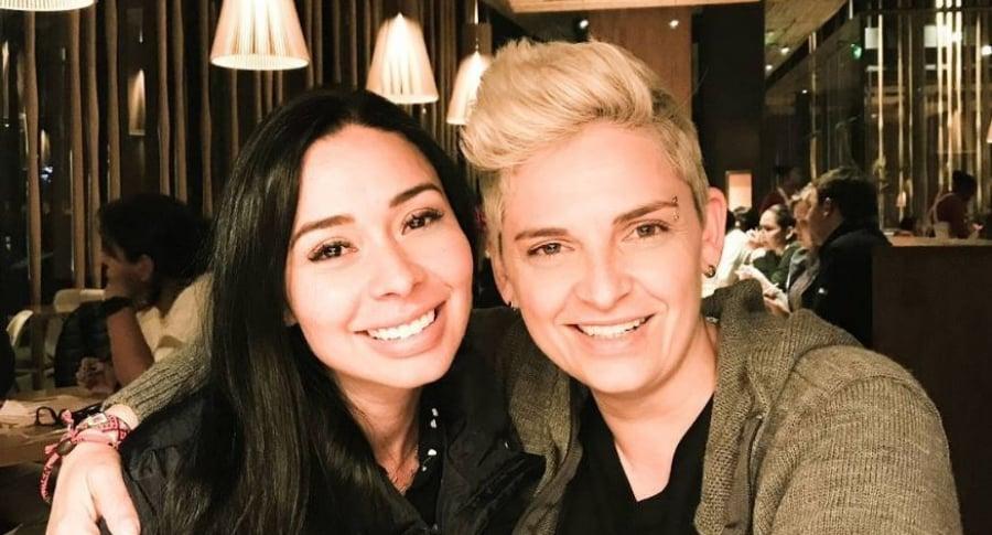 Kelly Barrios y Camila Chahín
