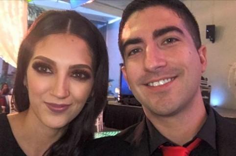 Ismael Solalinde y su esposa Aura Sandoval