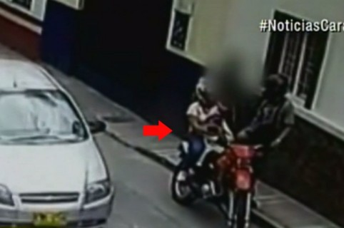 'Los Matachos' robando en Bucaramanga. Pulzo.