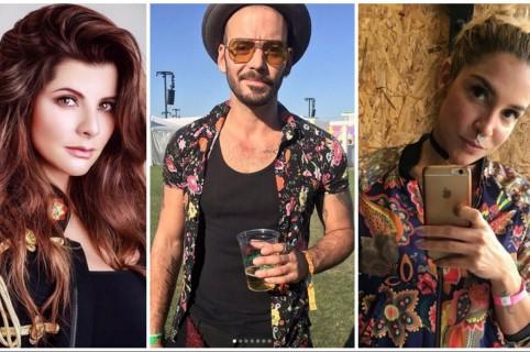 Carolina Cruz, Diego Cadavid y Valentina Lizcano. Pulzo.