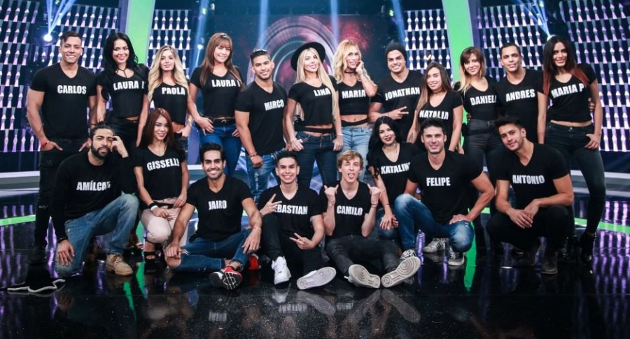 Protagonistas de Nuestra Tele.