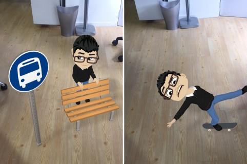 Bitmojis Snapchat