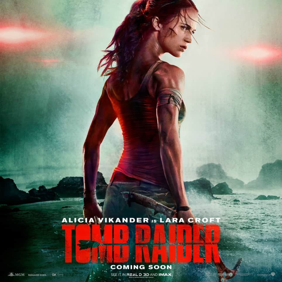 Póster de 'Tomb Raider'. Pulzo.