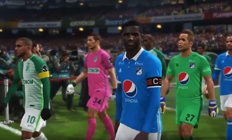 Millonarios y Nacional PES 2018