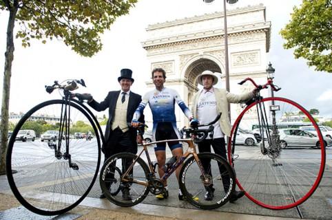 Récord en bicicleta