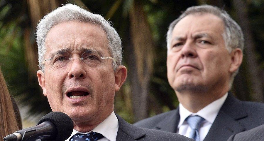 Álvaro Uribe y Alejandro Ordóñez