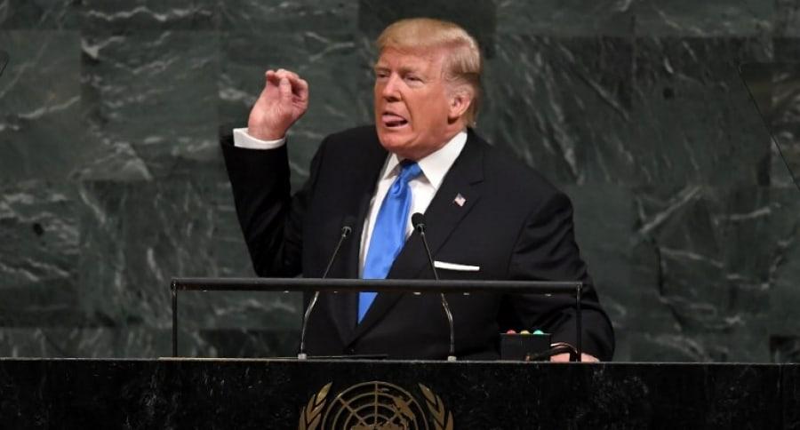 Donald Trump en las Naciones Unidas