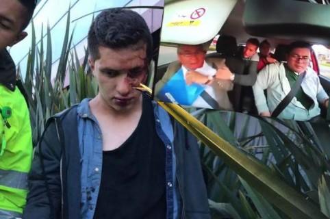 Intento de robo en Bogotá