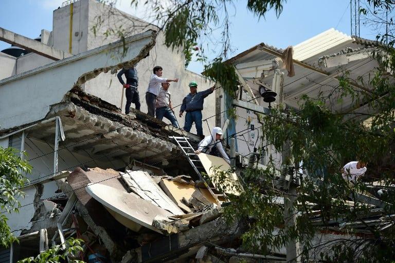 Terremoto en Ciudad de México. Pulzo.