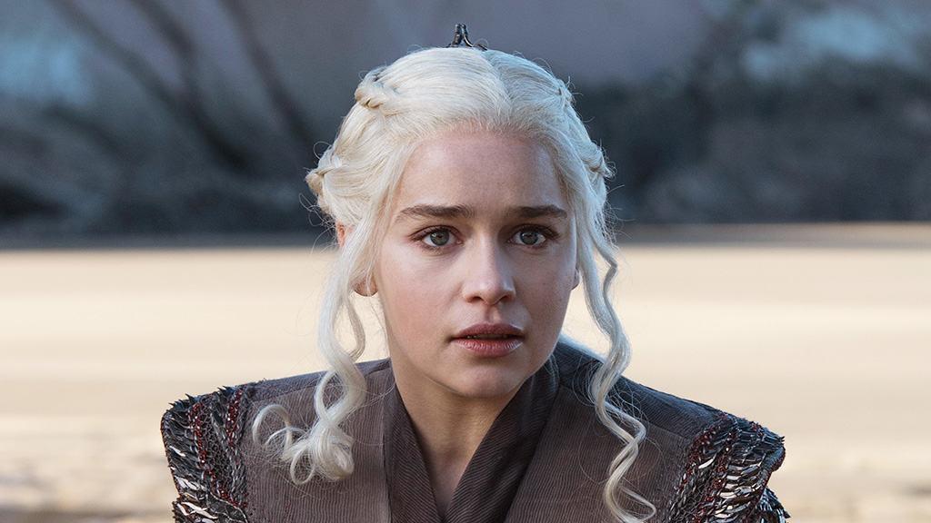 Emilia Clarke en su papel de Daenerys Targaryen. Pulzo.