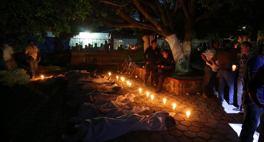 Víctimas del terremoto en México