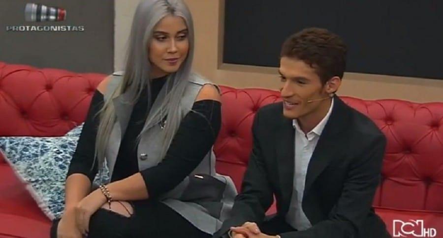 Manuela Gómez y Óscar Naranjo en 'Protagonistas'
