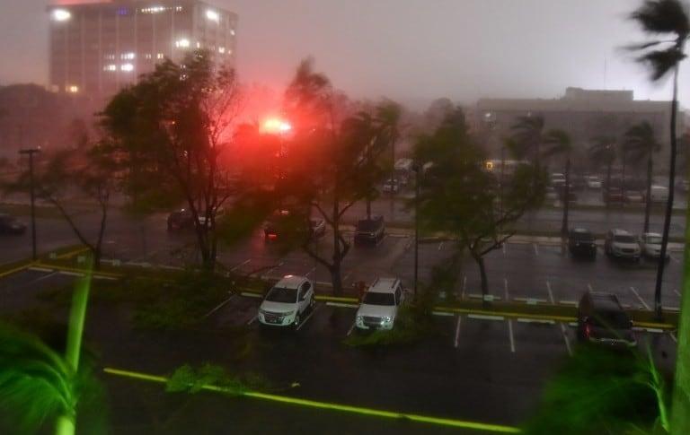 Clima en Puerto Rico por la llegada de María