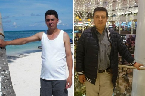 Ezequiel Aponte Barajas (taxista) y Manuel Coral Bernal (abogado)