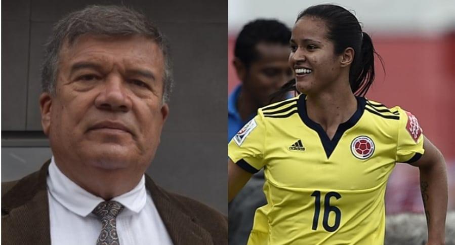 Nelson Abadia y Lady Andrade