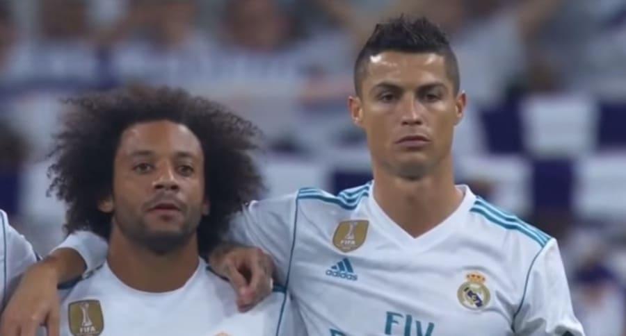 Marcelo Vieira y Cristiano Ronaldo