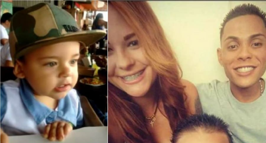 Niño asesinado en Medellín