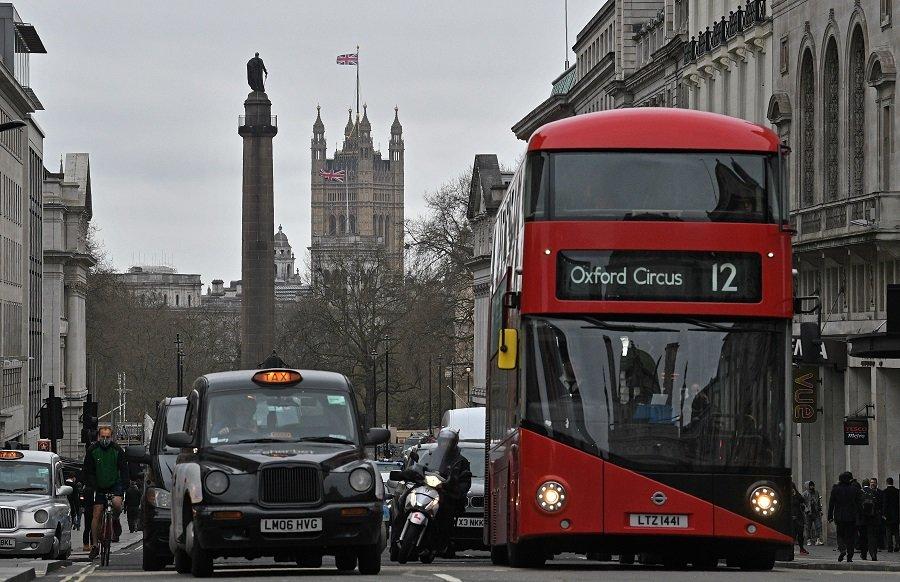 Medios de transporte en Londres