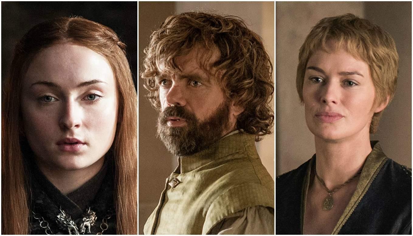 Sansa, Tyrion y Cersei. Pulzo.