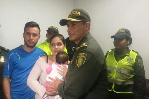Rescate de bebé en Atlántico