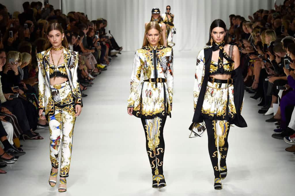 Pasarela Versace Semana de la Mode de Milán