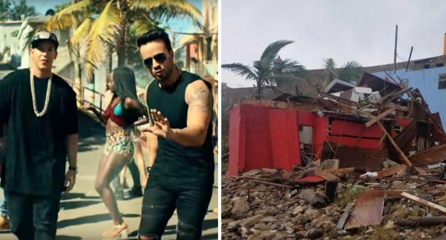Barrio La Perla después de Huracán María